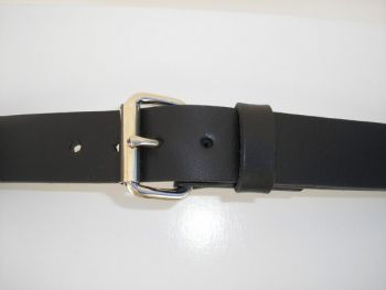 Black Field Belt by Royden Leather Belts