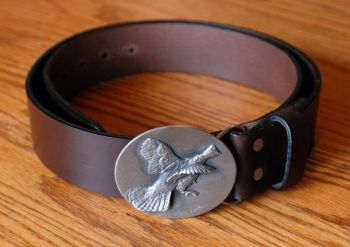 Flying Grouse Belt by DePaolis and Royden Leather Belts