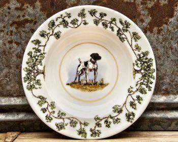 German Shorthair Bowl Plantation China Bowl by WM Lamb and Son