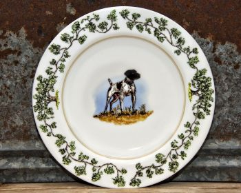 German Shorthair Plantation China Dinnerware by WM Lamb and Son