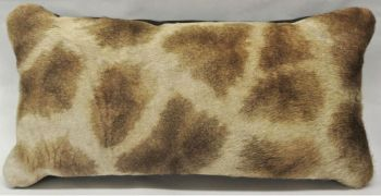 Giraffe Hide Rectangular Pillow - Front