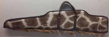 Giraffe Hide Rifle Case - Left Side