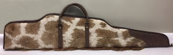 Giraffe and Cape Buffalo Rifle Case - right side