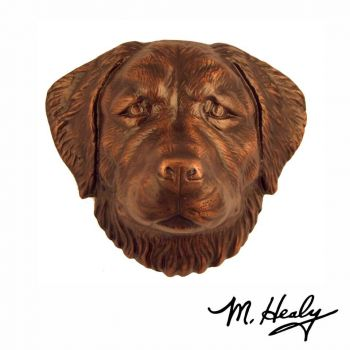 Golden Retriever Door Knocker by Michael Healy