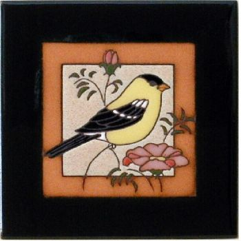 Goldfinch Ceramic Tile - Maanum Custom Tiles