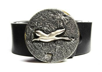 Flying Goose Buckle by Tyger Forge