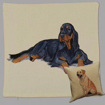 Gordon Setter Throw Pillow Zeppa Studios