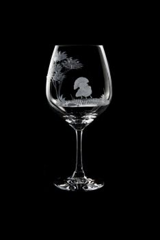Vino Grande Wine Glass - Turkey Design - Queen Lace Crystal