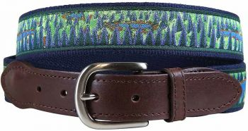 Hopkins Northwoods Leather Tab Belt by Belted Cow