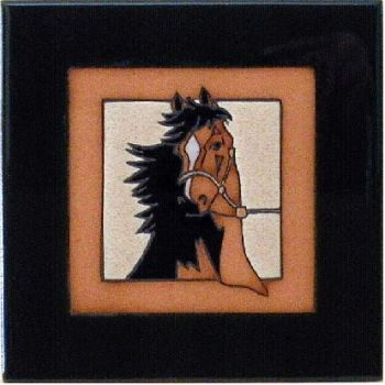Horse Ceramic Tile - Maanum Custom Tiles