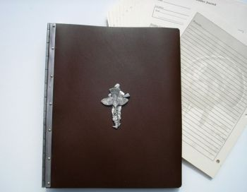 Hunter with Turkey Leather Journal by Royden Leather