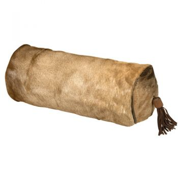 Impala Hide Bolster Pillow