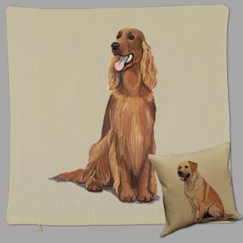 Irish Setter Throw Pillow Zeppa Studios