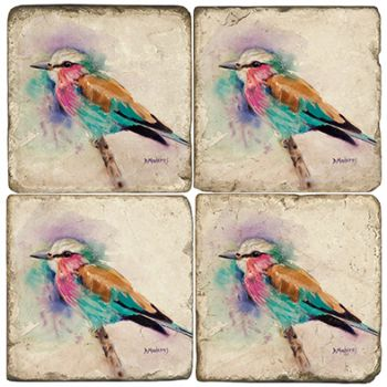 Jim's Birds Italian Marble Coasters and Giftware