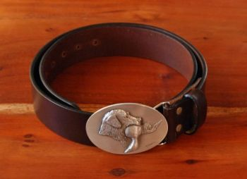 Lab with Duck Belt - DePaolis buckle with Royden Leather Belt