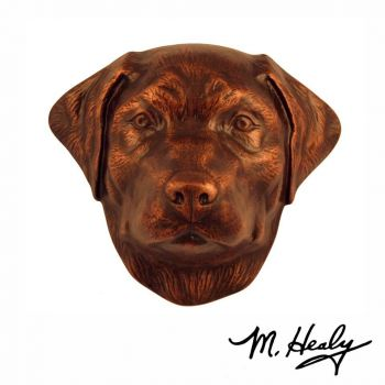 Labrador Retriever Door Knocker by Michael Healy