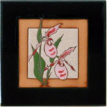 Lady Slipper Ceramic Tile by Maanum Custom Tiles