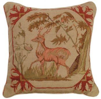Lancaster Petit Point Pillow by Michaelian Home