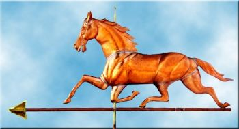 Large Patchen Horse Weathervane - Barry Norling