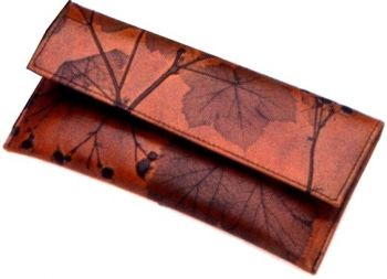 Leaf Leather French Wallet