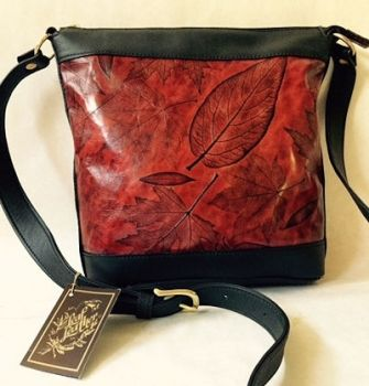 Leaf Leather Heather Bag