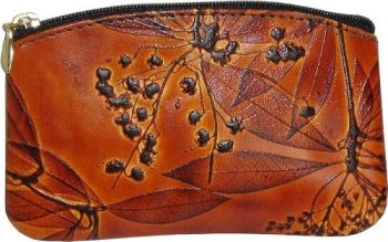 Small Curve Coin Purse by Leaf Leather