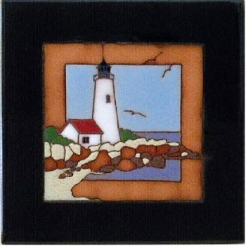 Lighthouse  6 x 6 Ceramic Tile by Maanum Custom Tiles