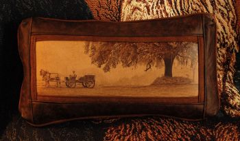 Plantation Wagon Under a Live Oak