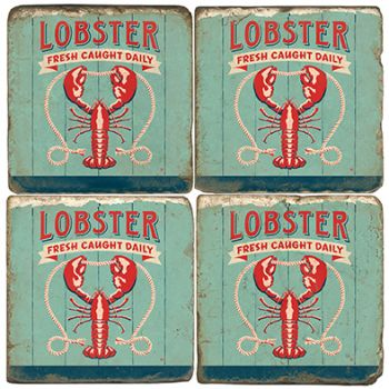 Lobster Italian Marble Coasters and Giftware