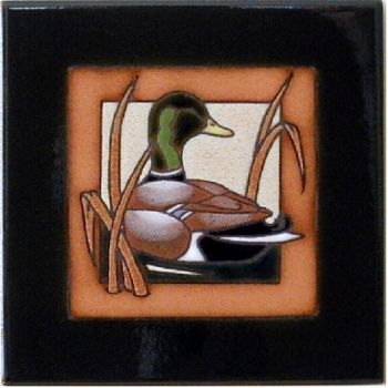 Mallard 6 x 6 Ceramic Tile - Maanum Custom Tiles