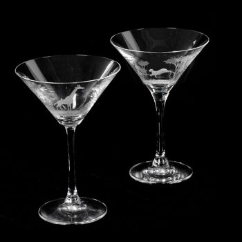 Martini Glass by Queen Lace Crystal