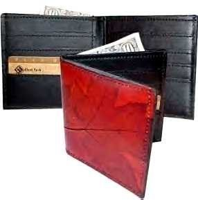 Men's Leaf Leather Wallet