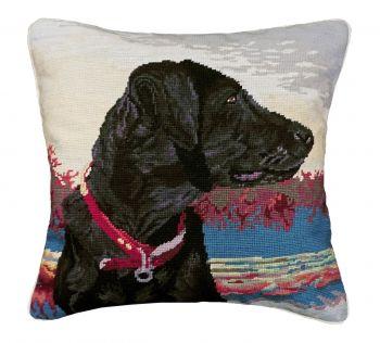 Mideg from Thomasville Georgia Needlepoint pillow by Michaelian Home
