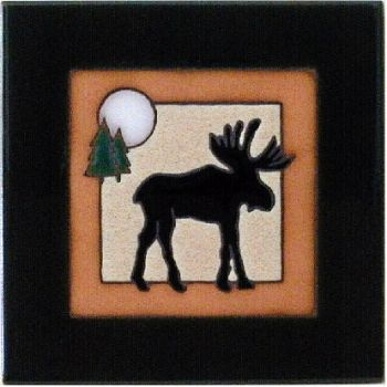 Moose 6 x 6 Ceramic Tile by Maanum Custom Tiles