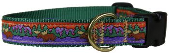 Belted Cow Moose - version 2 -  One inch dog collar by Belted Cow