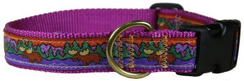 Belted Cow Moose One inch dog collar by Belted Cow