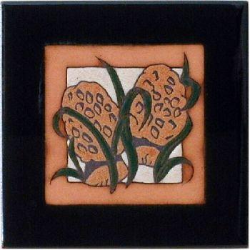 Morel Mushroom 6 x 6 Ceramic Tile - Maanum Custom Tiles