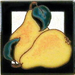 Pears Ceramic 4 x 4 Tile by Maanum