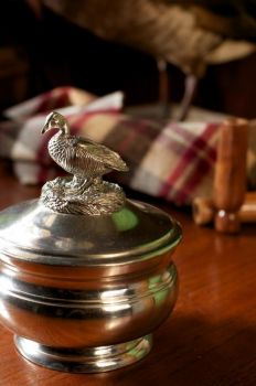 Pewter Duck Sauce bowl by Vagabond House