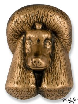Poodle Door Knocker by Michael Healy