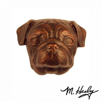 Pug Door Knocker by Michael Healy