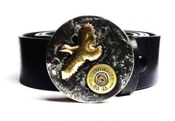 Bug Out Bob Quail and 20 Gauge Shot Shell Buckle