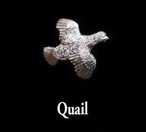 Quail Sterling Silver Cufflinks - Louis Lejeune
