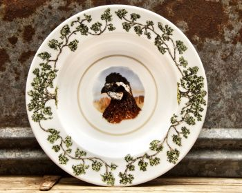Quail Head Plantation China Dinner Bowl by WM Lamb and Son