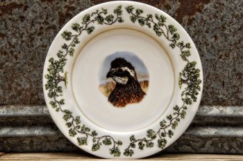Quail Head Salad Plate Plantation China by WM Lamb and Son