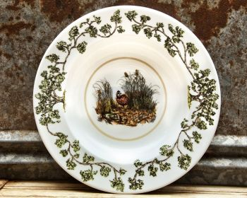 Quail in the Bush Plantation China Bowl by WM Lamb and Son