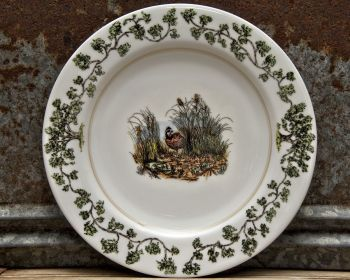 Quail in the Bush Plantation China Dinnerware by WM Lamb and Son