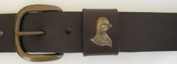 Quail head Belt by Royden Leather Belts