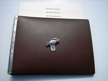 Quail Hunter Journal by Royden Leather