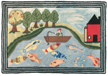 Rainbow Lake Rug by Michaelian Home
